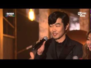 141203 MAMA 2014 Some - Lee Jong Hyuk - Hyorin (cut)