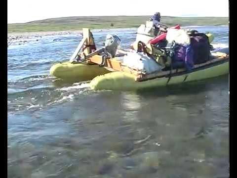 Путешествие от Воркуты до Воркуты через реки и моря 2 часть
