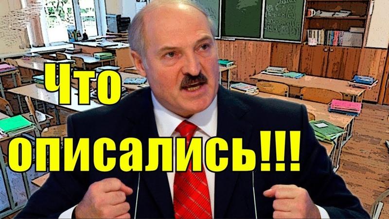Лукашенко: «Чиновники опuсалuсь, а я б этому щенку голову отвернул!» | новости мира