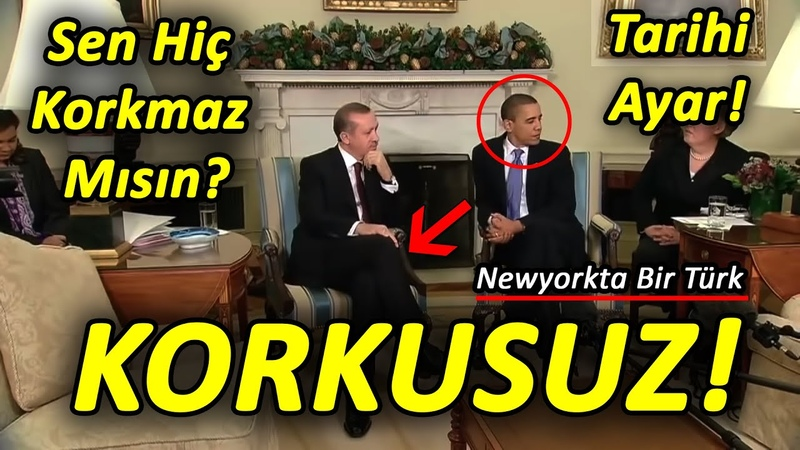 Sen Hiç Korkmaz Mısın Erdoğan Adam New York'ta Abd'ye Ayar Veriyor Adama Evini Dar Ederler Koçum