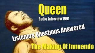 Brian May & Roger Taylor 1991 Radio Interview Answering Questions - Innuendo, Live Aid, Tour & More