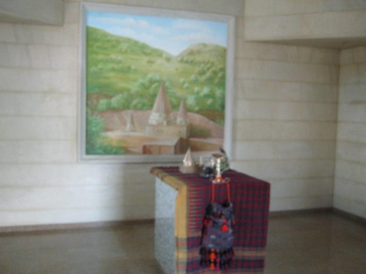езидский храм внутри