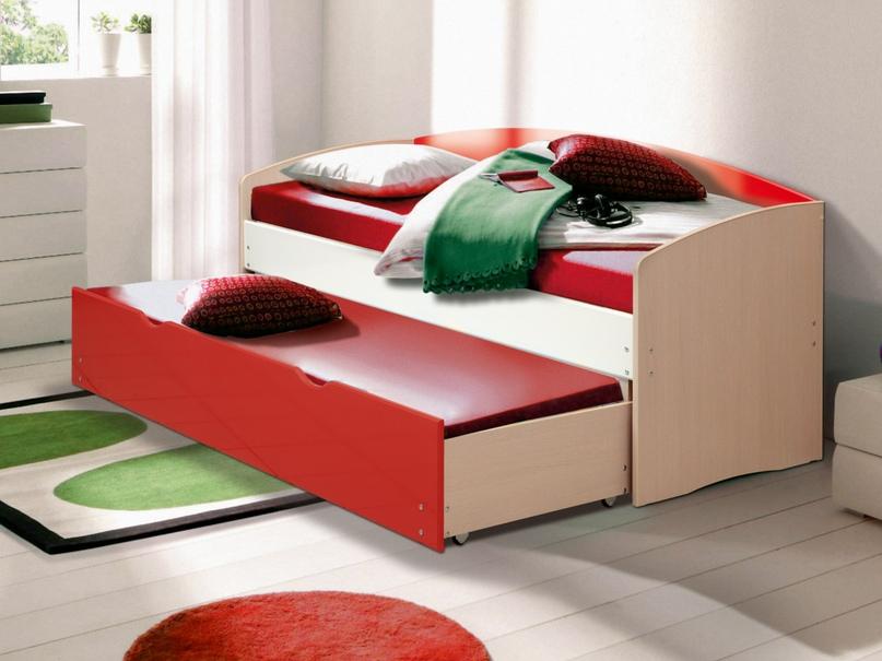 Плюсы и минусы двухъярусных выдвижных кроватей, популярные дизайны, изображение №27