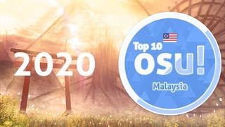 Top 10 osu!Malaysia players of 2020