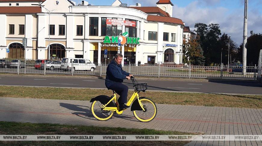 В Бресте тестируют велошеринг (прокат велосипедов)