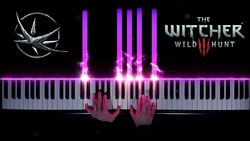 OST The Witcher 3 Wild Hunt The Wolven Storm Priscilla's Song on piano