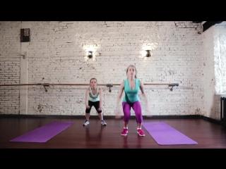 Короткая жиросжигающая тренировка  4 минуты
