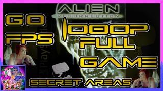 #Alien #Resurrection [#PS1] #Полная #Игра #Уровень 11 #Секретные #Области #Жесткий #60FPS