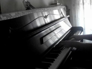 "Dark Tranquillity — ""The Gallery"" on piano"