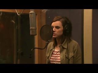 Amy macdonald & ray davies in the studio