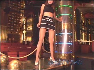 Mini skirt & beautiful leg japan