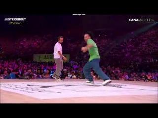 Les Twins (France) vs U.K & Aldo (USA)   Juste Debout 2011 Final   YAK FILMS
