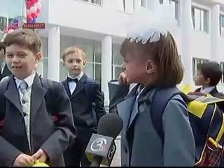 Девочка,которую 1 сентября не увидели и случайно закрыли в классе)))
