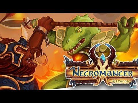 Обзор Braveland Necromancer Returns Наши духовные инди наследники King's Bounty