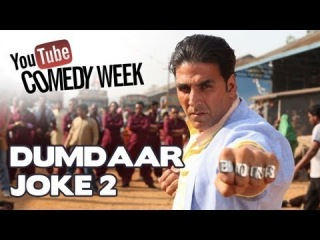 YouTube Comedy Week with BOSS | шутка 2 | Akshay Kumar