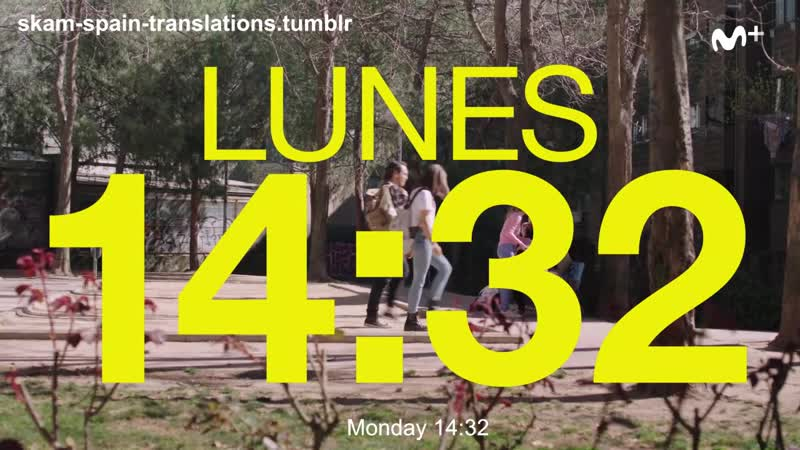 Skam Spain S02e09 Clip 1 Get out of my head