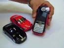 Stylové mobilní telefony ve tvaru auta. Car Mobile phones by