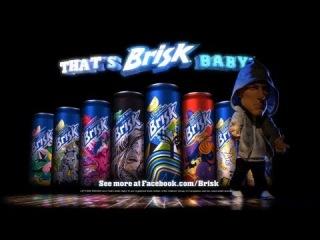 Эминем в рекламе напитка Brisk для Суперкубка