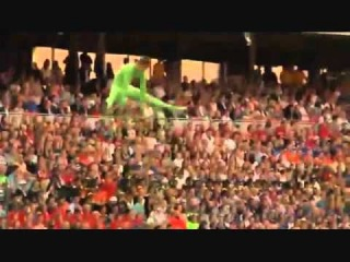 Eric Saade - Gothia Cup Opening Ceremony (Sweden - July 18, 2011)