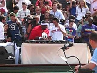 Novak Djokovic - DJ at Roland Garros 2011 with Big Ali (HD)
