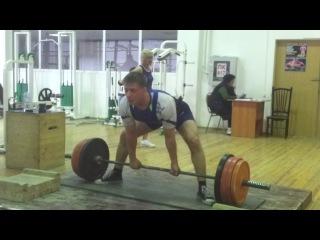 Владимир Сахнов Dead LIft/Становая тяга 200 кг на 3 повторения.г.