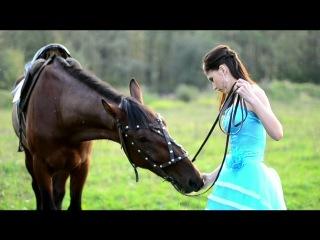"Фотовылазка ""Девушка на коне"""
