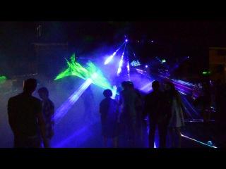 Лучевое лазерное шоу SpaceShow от Аллегро