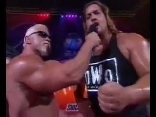 WCW Halloween Havoc Scott Steiner Interview 25 Октября 1998