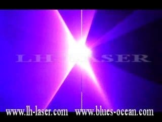 LH-SAM600 600mw SD CardLcd displayPink Animations Laser Light