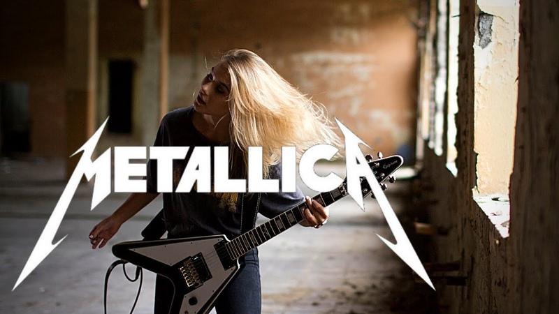 Metallica Creeping Death Rhythm cover Ada Kaczanowska