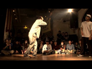 DANCE@LIVE 2013 JAPAN FREESTYLE Kanto 【BEST 8】リュウイチ vs FRESH SEIJI