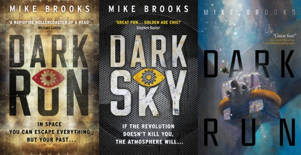 Dark Run (Keiko, Book #1) - Mike Brooks