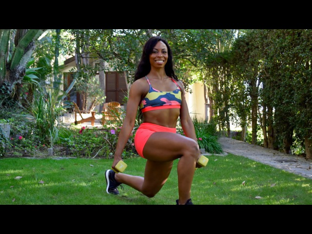 Butt Workout Glute Workout Grow Butt not Thighs At Home Butt and Thigh Workout with Dumbbells