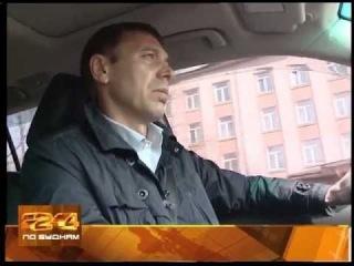 Мэр Иркутска за рулем