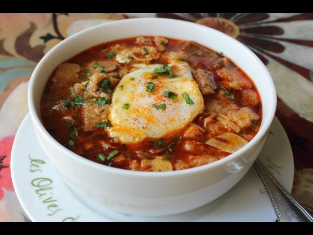 Spanish Garlic Soup Sopa de Ajo Recipe Bread and Garlic Soup