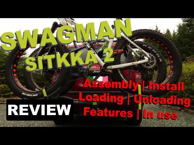Крепление для ФЭТБАЙКА на машину Swagman Sitkka 2 2018 год