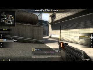CS:GO - 1 vs 4 Eco round ACE