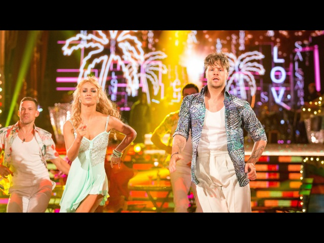 Jay McGuiness Aliona Vilani Salsa to 'Cuba' - Strictly Come Dancing: 2015
