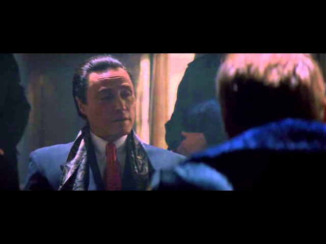 Деннис Хоппер и Кристофер Уокен эпизод из фильма Настоящая любовь 1993