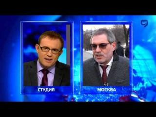 Израильский журналист берет интервью у Михаила Леонтьева. У мировых СМИ шок от бреда Михаила.