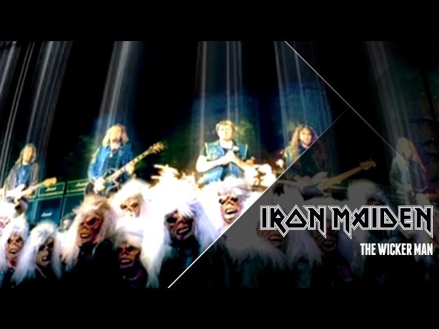 Iron Maiden The Wicker Man Official Video