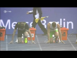 Kim Collins  CHRISTOPHE LEMAITRE Jimmy Vicaut 100m men ISTAF Berlin 2015