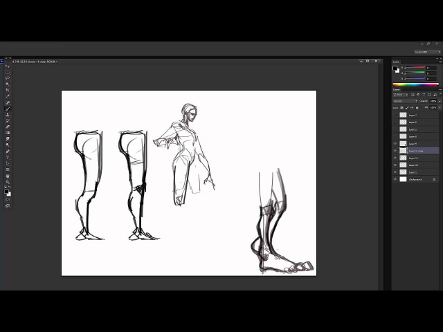 Drawing Poses with Ahmed part 2