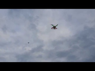 [DJI] PHANTOM 2 & [BYROBOT] DRONE FIGHTER