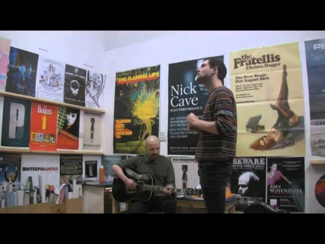 The Twilight Sad Cold Days From the Birdhouse Live Acoustic at Avalanche Records Edinburgh