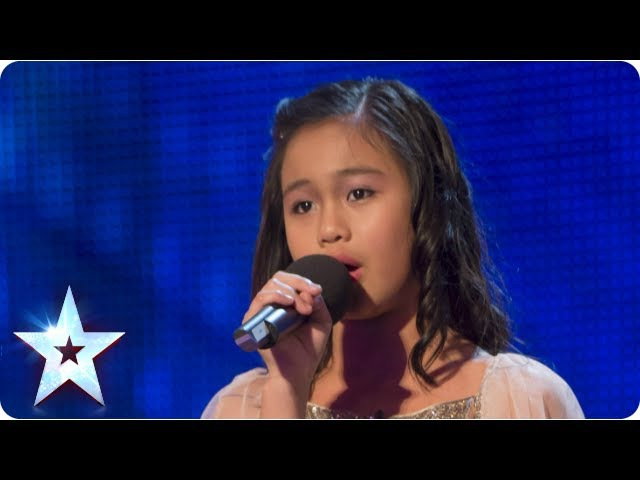 Arisxandra Libantino stuns singing 'One Night Only' Week 1 Auditions Britain's Got Talent 2013