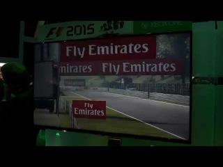 F1 2015 E3 replay cam @ Spa Belgium