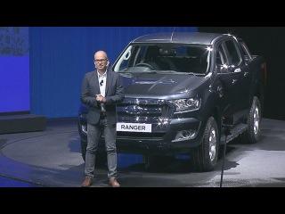 Глобальная презентация рейстайлингового Ford Ranger на Bangkok International Motor Show 2015
