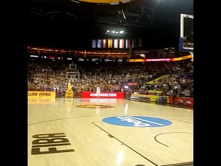 Dirk Nowitzki in tears has the standing ovation of Berlin. Last game with NT