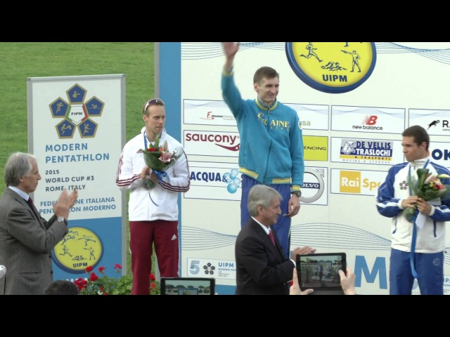 UIPM 2015 World Cup 3 Men's Awards Ceremony